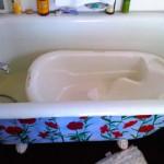 Bebe's 1st Bath