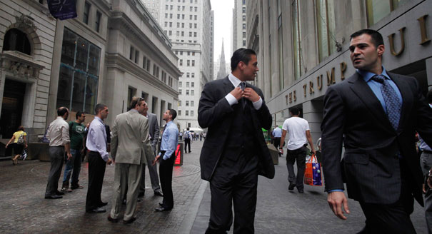 Tips for dating on Wall Street yep she thinks you re a jerk