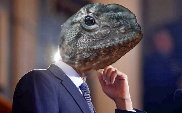 reptilian elite