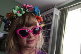 flower crown glasses munch