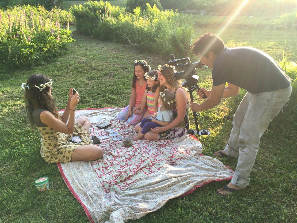 toni abner elise family filming