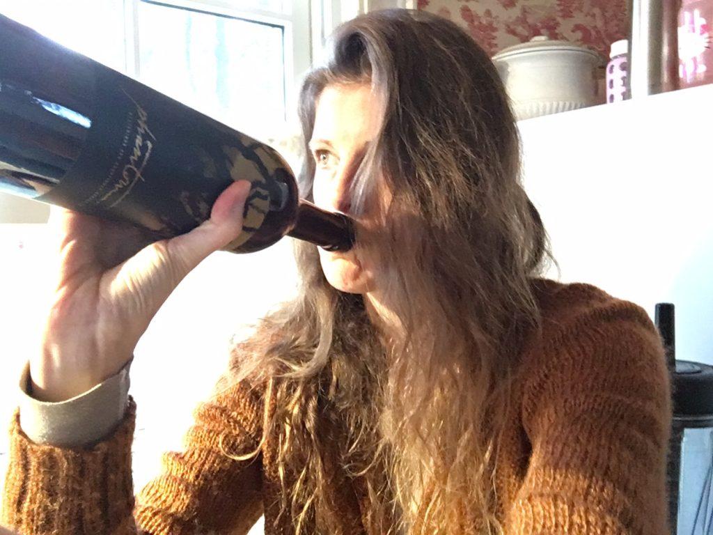 toni-drinking-wine